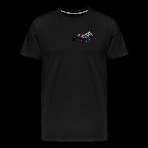 Pferd mit Farbe - Männer Premium T-Shirt