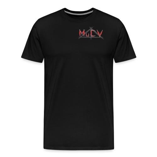 MuCV Logo Rot - Männer Premium T-Shirt