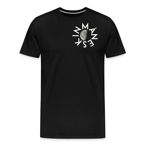 Maneskin - Logo con luna al centro - Maglietta Premium da uomo