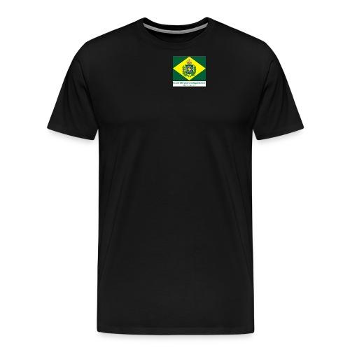 Brazil 200 years independence - Premium T-skjorte for menn