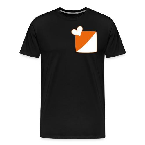 Herz_IloveOL - Männer Premium T-Shirt
