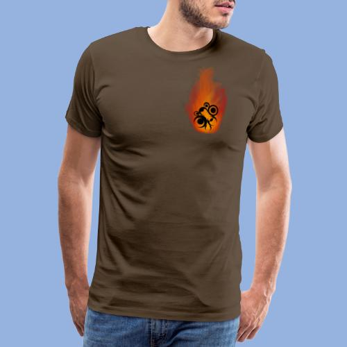 Should I stay or should I go Fire - T-shirt Premium Homme