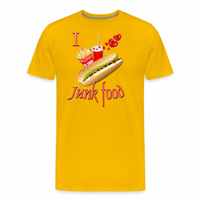 I love Junk food