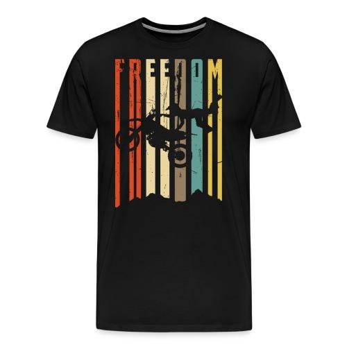Motocross Vintage - Männer Premium T-Shirt