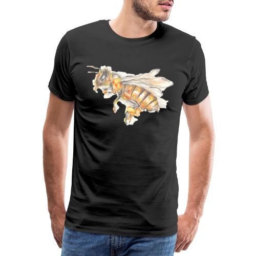 MG002 Bee | Honey | Save the Bees | Books bee - Men's Premium T-Shirt