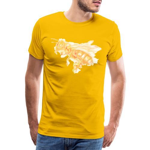 MG002 Bee | Honey | Save the Bees | Books bee - Men's Premium T-Shirt