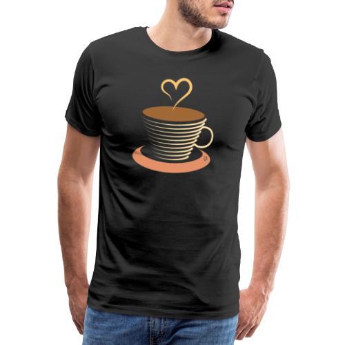 0251 Coffee | Coffee lovers | coffee pot - Men's Premium T-Shirt