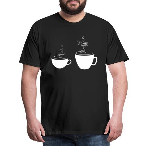 0255 coffee or tea | Best friends - Men's Premium T-Shirt