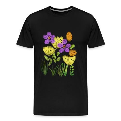 spring flower - Männer Premium T-Shirt
