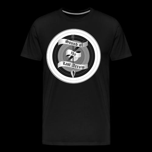 sola mitzielscheibe quadratisch png - Männer Premium T-Shirt