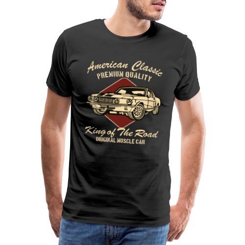 American Oldtimer Auto Shirt - Männer Premium T-Shirt