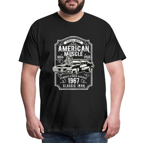Auto Design American Muscle für Automechaniker - Männer Premium T-Shirt