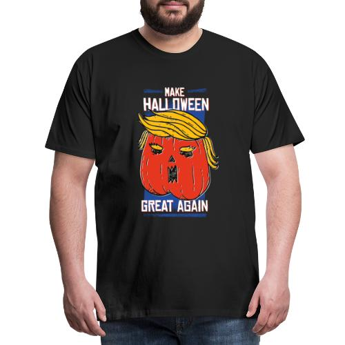 Trumpkin - Make Halloween great agein - Männer Premium T-Shirt