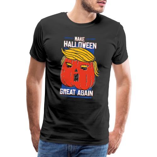 Trumpkin - Make Halloween great agein - Männer Premium T-Shirt