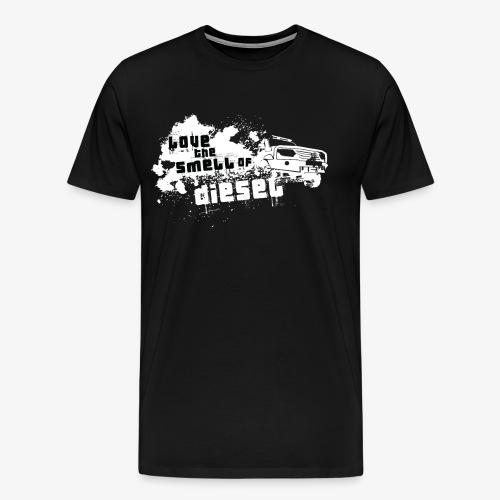 Love the smell of Diesel I Dieselholics - Männer Premium T-Shirt