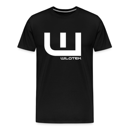 Wildtek Logo White - Men's Premium T-Shirt