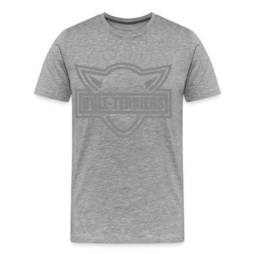 BullTerrier HD Logo - Men's Premium T-Shirt