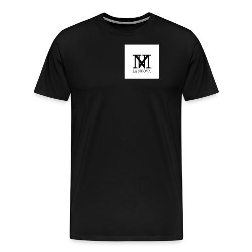 'LA NUOVA' White Background - Men's Premium T-Shirt
