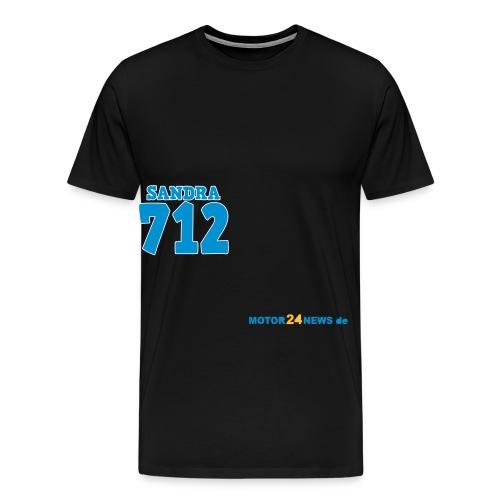 Motor24news-schrift - Männer Premium T-Shirt