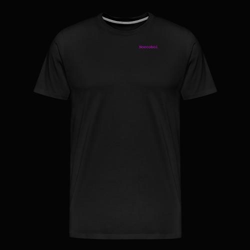 noccoboi oldschool logo - Premium-T-shirt herr