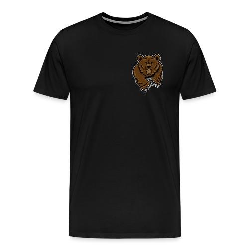 grizzly bear clip art 271767 png - Men's Premium T-Shirt