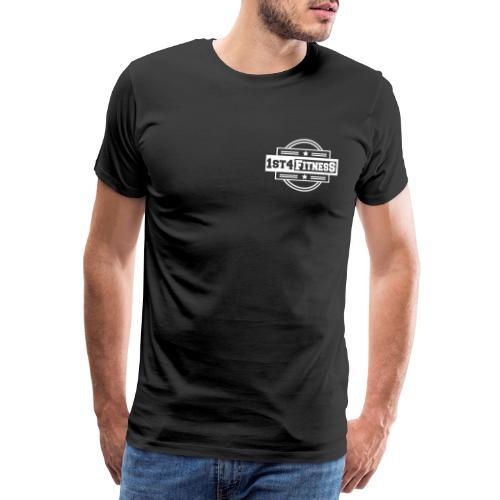 1st4Fitness White Back & Front - Men's Premium T-Shirt