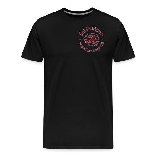 Runhunden rund liten - Premium-T-shirt herr