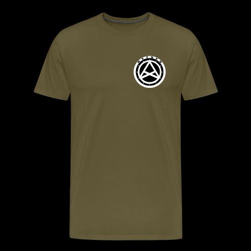 Nether Crew Black\White T-shirt - Maglietta Premium da uomo