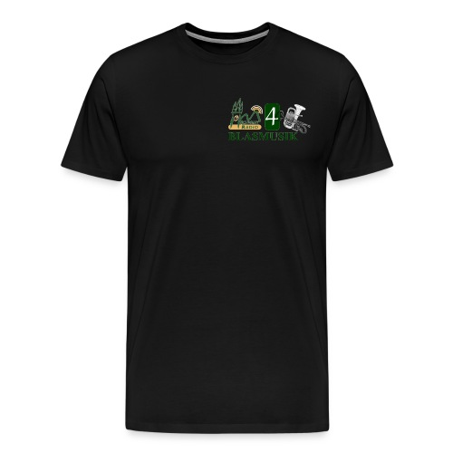 schwany 4 logo - Männer Premium T-Shirt