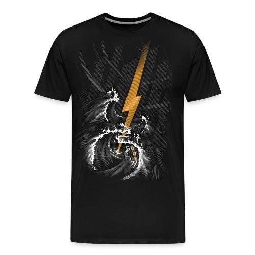 Musical Storm - Men's Premium T-Shirt