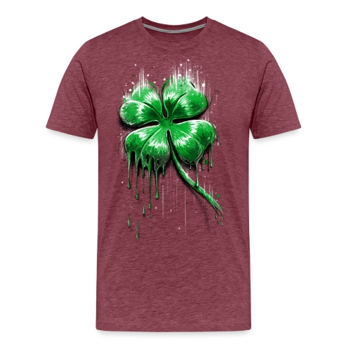 Four Leaf Clover - Men's Premium T-Shirt