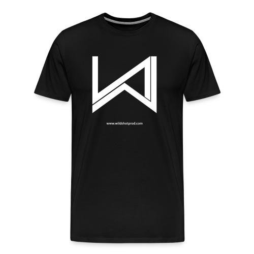 Wild Shot Production Blanc - T-shirt Premium Homme