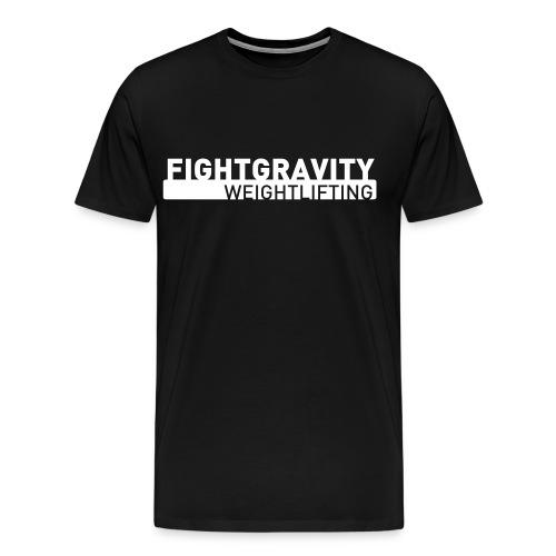 fightgravity_tshirt_A2 - Maglietta Premium da uomo