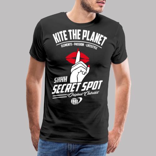 shhh secret spot - Männer Premium T-Shirt