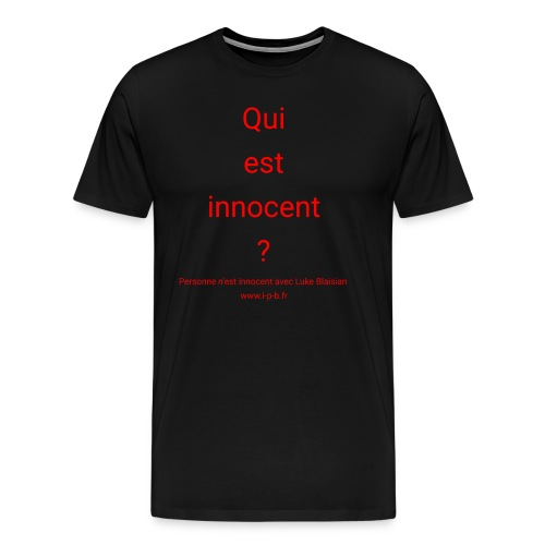 design-blaisian-fr-innoce - T-shirt Premium Homme