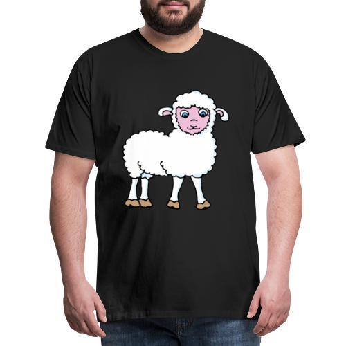 Minos le petit agneau - T-shirt Premium Homme