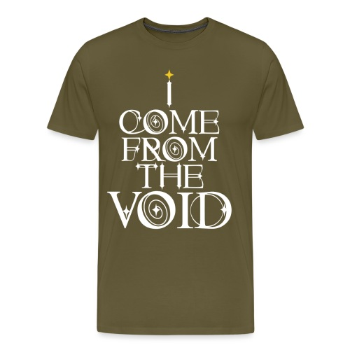 I Come From The Void White - Men's Premium T-Shirt