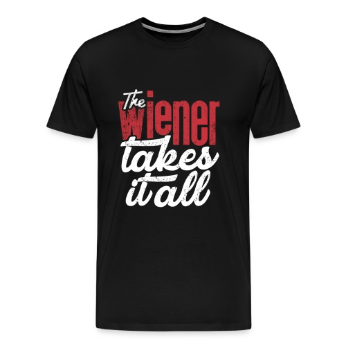 The Wiener takes it all (white) - Männer Premium T-Shirt
