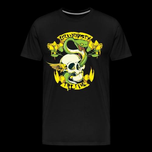 LNN SnakeSkull - Premium-T-shirt herr