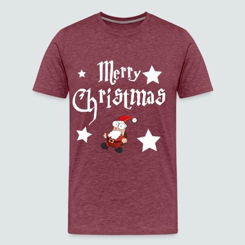 Merry Christmas - Ugly Christmas Sweater - Männer Premium T-Shirt