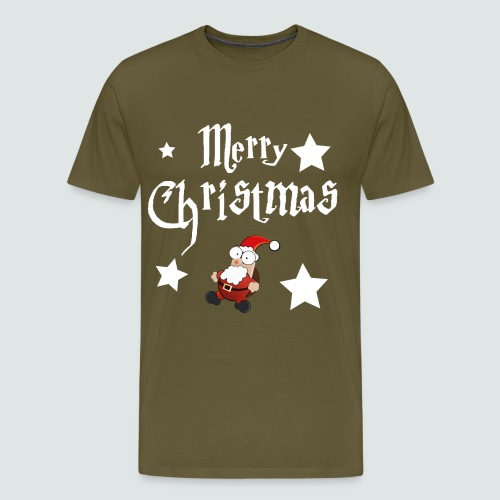 Merry Christmas - Ugly Christmas Sweater - Männer Premium T-Shirt