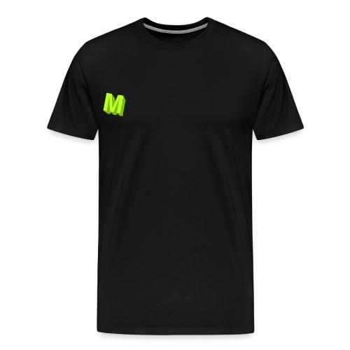 Muffins Logga - Premium-T-shirt herr