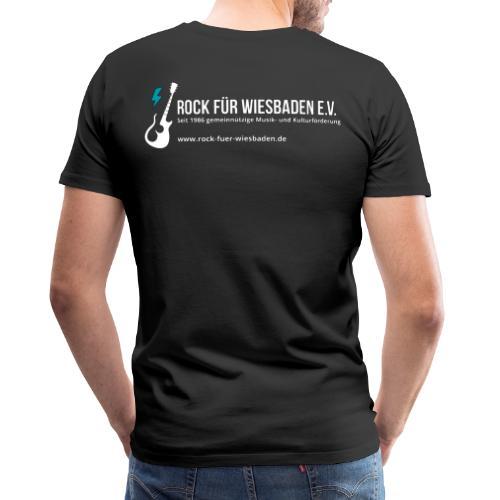 Offizielles Rock für Wiesbaden e.V. Design - Männer Premium T-Shirt