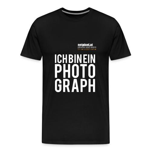 photograph - Männer Premium T-Shirt