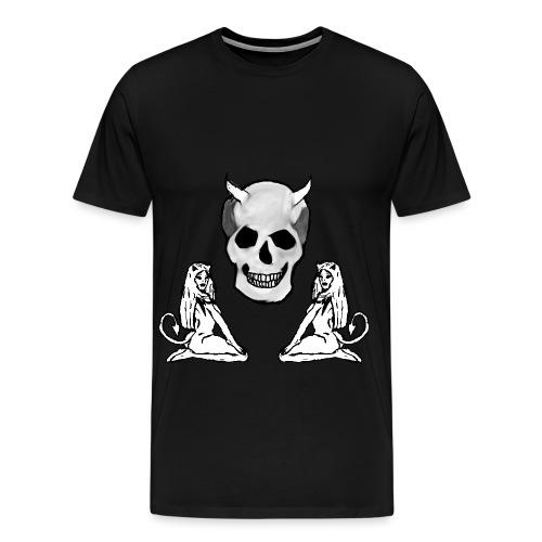 devil woman 2 png - Men's Premium T-Shirt