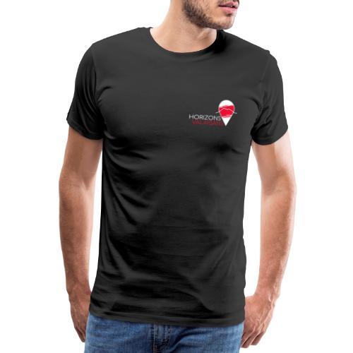 Horizons Valaisans (blanc) - T-shirt Premium Homme