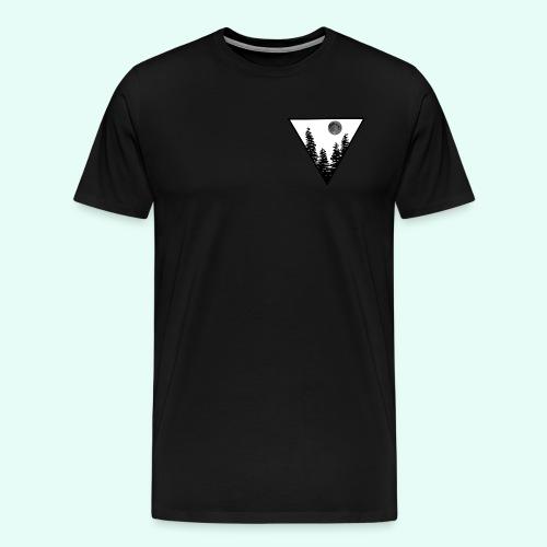 Pleine lune - T-shirt Premium Homme