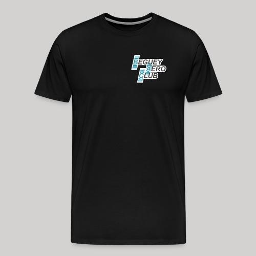 logo Le B.A.C. 2018 bordure blanche - T-shirt Premium Homme