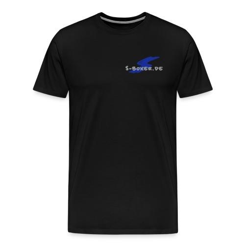 S Logo - Männer Premium T-Shirt