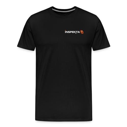 INSPEKTA negativ v2 - Premium T-skjorte for menn